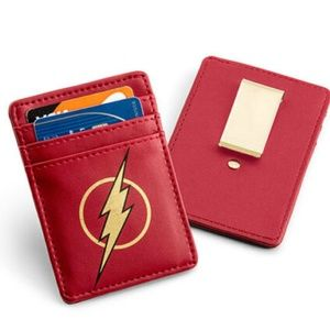 Flash Justice League Card Wallet with Money Clip